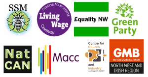 Living wage letter signatory logos